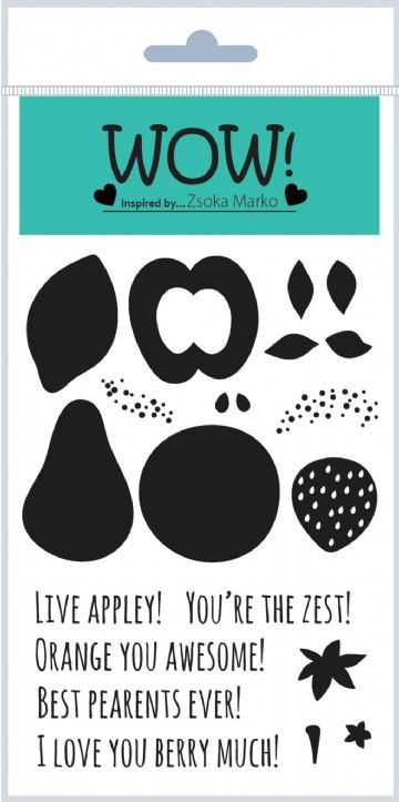 Fruit for Thought (by Zsoka Marko) - Clear Stamp Set